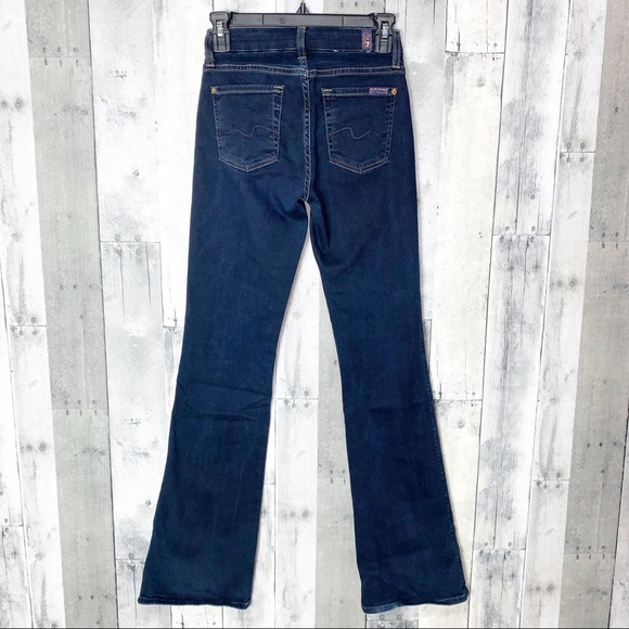 7 For All Mankind Denim - 7 For All Mankind Mid Rise Kimmie Bootcut Sz 24